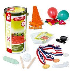 """Kit para montar """"olimpiadas"""" y juegos deportivos con los niños"""