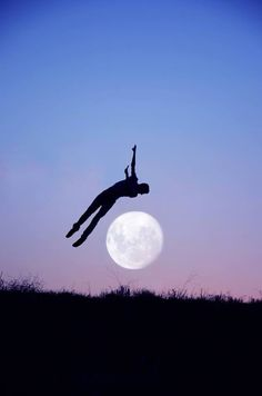 Crazy about the moon