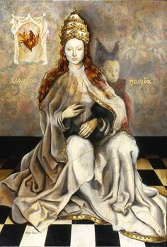 Selski, Margo - The White Queen - Surrealism - Allegory - Oil on canvas