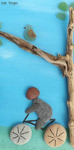 Ceramica de la playa por DengraDesigns en Etsy Más