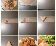 بريك بالبطاطا و التن و الجبن