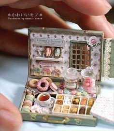 1PCS 1:12 Dollhouse Miniature Copper Tea Kettle Tea Pot Classic To CGY