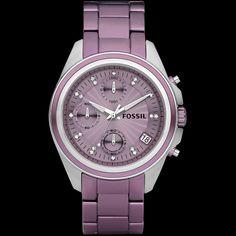 Purple Fossil Watch #purplewatch #purplefossilwatch