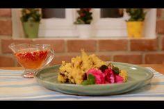 Tempurá de Flores com Molho de Pimenta Doce no dia 13/10/2014