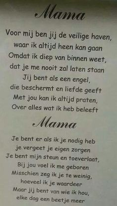 voor mijn mama die helaas overleden is Mom Quotes, Quotes For Kids, Qoutes, Beste Mama, Good Vibes, Kids And Parenting, Google Images, Writing, The Originals