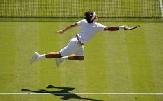 Roger Federer (Switzerland) — 2008 Wimbledon Gentlemen's Singles First Round.