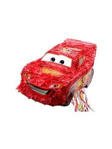 Cars - The Movie Pinata (each) by Hallmark. $19.99. Our Cars pull-string style pinata featuring Lightning McQueen, wants to speed to your child's Cars party and finish the race! Adult supervision required.