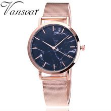 "Universe of goods - Buy ""Vansvar Brand Fashion Silver And Gold Mesh Band Creative Marble Wrist Watch Casual Women Quartz Watches Gift Relogio Feminino"" for only USD. Cheap Luxury Watches, Mesh Armband, Marble Quartz, Gold Marble, Black Marble, Smartwatch, Watch Brands, Watches For Men, Wrist Watches"