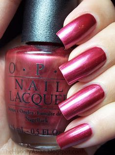 OPI: Paint Your Toron-Toes Rose. from the OPI Canadian collection. This is the color I usually pick for pedicures - without looking at the name, I pick it almost every time! Cute Nail Polish, Opi Nail Polish, Opi Nails, Cute Nails, Red Manicure, Mani Pedi, Opi Nail Colors, Fall Nail Colors, Fabulous Nails