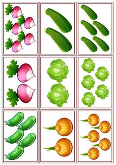 Kindergarten Activities, Educational Activities, Activities For Kids, Crafts For Kids, Fruit And Veg, Fruits And Vegetables, Vegetable Crafts, Learn Arabic Alphabet, Preschool Garden