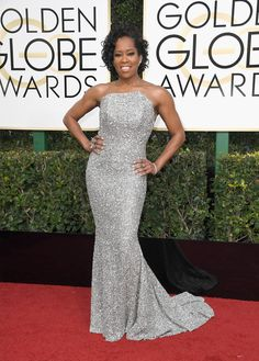 Regina King || Golden Globes 2017
