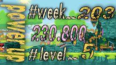 Angry Birds Friends Tournament Week 203  Level 5   power up  HighScore (...