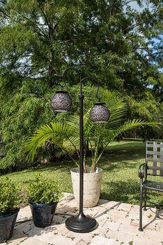 Kenroy Home Castillo Outdoor Floor Lamp, Bronze Finish Outdoor Floor Lamps, Outdoor Flooring, Bronze Floor Lamp, Floor Finishes, Bronze Finish, Bulb, Plants, Home, Onions