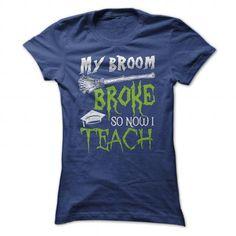 Now I Teach - #gift for men #gift bags. MORE ITEMS => https://www.sunfrog.com/Funny/Now-I-Teach-NavyBlue-Ladies.html?68278