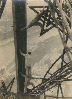 Parigi Vintage, Tour Eiffel (1955).