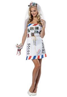 Mail Order Bride Costume #Halloween #Sexy #Idea
