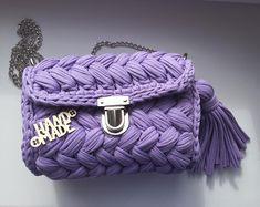 9d85eb98bb6d Весна приближается🌷 Девочки, цвет сумочки необыкновенный - нежный,  женственный, весенний💜Получилась настоящая зефирка🍥 Выполнено для  обворожительной ...