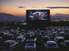 4. See a drive-in movie: Redwood Drive-In Theater