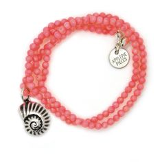 Beach coral ketting consciousness from Applepiepieces #applepiepieces #summertime