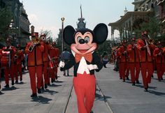 Step in Time: The First 'Character Parades' at Magic Kingdom Park / Disney World.