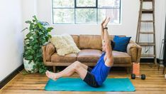 Workout exercises: Sam Wood's 7-move ab routine