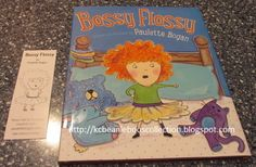 K C Beanie Boos Collection: Bossy Flossy Book By Paulette Bogan