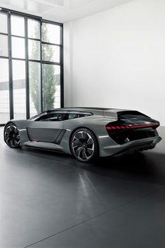 Audi PB 18 e-tron - The MAN Futuristic Cars, Maserati, Bugatti, Ferrari, Lamborghini Huracan, Unique Cars, Future Car, Nissan, Alfa Romeo