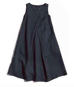 Waist Belt Sleeveless Linen Dress