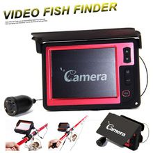 Portable 3.5 inch Color Monitor Fish Finder Underwater Fishing Camera Visual Fishing Tackle 15M Cable Depth Finder