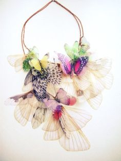 Fluttery Breath of Life Necklace 2 Transfer on by jewelera, $265.00