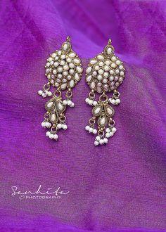 "Photo from Sanhita Aggarwal ""Portfolio"" album Indian Wedding Outfits, Wedding Jewelry, Backdrops, Brooch, Album, Jewels, Jewellery, Kolkata, Earrings"