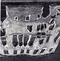 Federica Galli, Venice San Lorenzo, etching