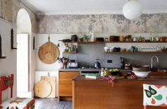 """This great kitchen is from our feature """"Bohemian Chic"""""""