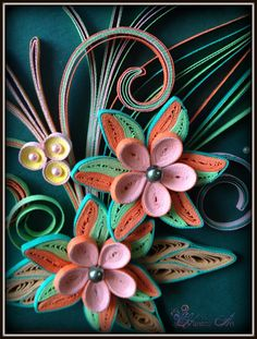 Hanezz Art: Card & 3D Quilling: Congratulations on your promotion sir!