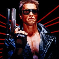 Arnold Schwarzenegger lets it be known they are going back to basics with the untitled Terminator 6 movie. Terminator Costume, Terminator Movies, Google Glass, Dirty Dancing, Arnold Schwarzenegger, Playboy, Gabriel, Style Année 80, Boston Dynamics