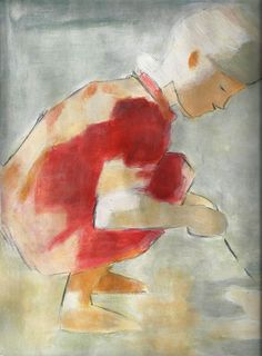 Finnish painter Helene Schjerfbeck is most widely known for her realist works and self-portraits, and less well known fo. Helene Schjerfbeck, Figure Painting, Painting & Drawing, Drawing School, Oil Painting Techniques, Art Society, Art World, Painting Inspiration, Impressionist