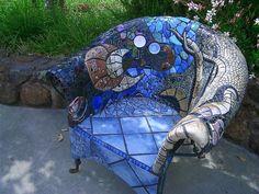 Wow! Love this #mosaic chair!