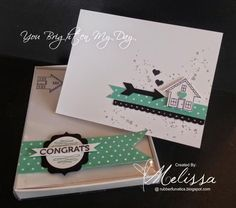 Stampin' Up! You Brighten my Day by Melissa Davies @rubberfunatics  #rubberfunatics #stampinup
