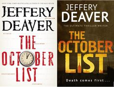The shocking end is only the beginning . . .#1 bestselling author Jeffery Deaver has created the most riveting and original novel of the year-a race-against-the-clock mystery, told in reverse. Watch the book trailer and read more ... http://www.thereadingroom.com/video/the-october-list-jeffery-deaver-jeffrey-deaver/7364515