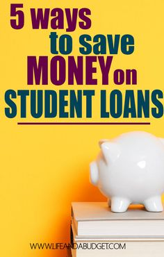 Are you looking for ways to save money on your student loans? Here are 5 ways you can shave interest and years off your student loans.