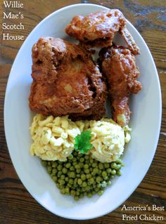 Willie Mae's Scotch House in New Orleans has America's best fried chicken. The rest of the food rocks too.