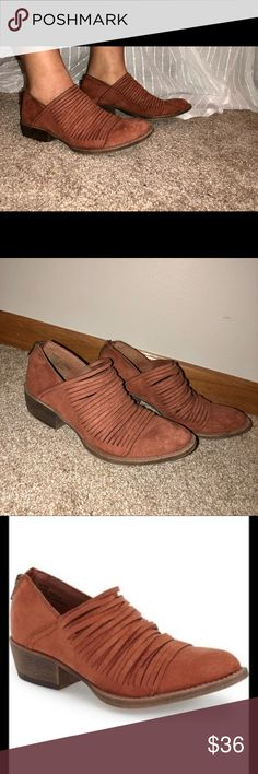 Coconuts by Matisse Meade Strappy Booties Size 7.5! Excellent condition. Really cute & look similar to the free People lost valley Ankle Boots. Matisse Shoes Ankle Boots & Booties