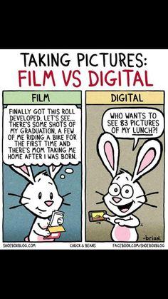Film vs digital
