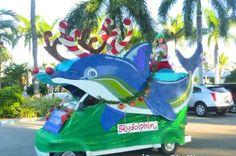Parade Captiva Florida, Florida Golf, Golf Humor, Funny Golf, Golf Cart Accessories, Golf Cards, 4th Of July Parade, Island Tour, Tours