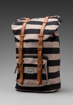 Stripe Backpack / Hershel