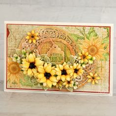 Heartfelt Creations - Joyful Sunflowers