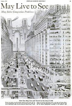 Popular Science Monthly, 1925. Así veían el mundo de 1950