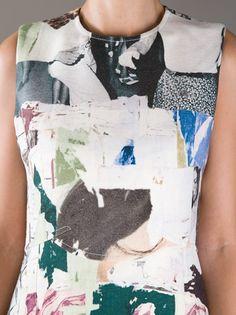 Detail / CARVEN -  graphic dress
