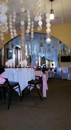 Источник интернет Balloon Decorations, Birthday Party Decorations, Birthday Parties, Wedding Decorations, Table Decorations, Balloon Ceiling, Ceiling Decor, Ceiling Lights, Hanging Balloons