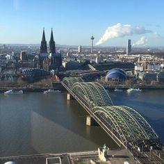 Der Blick über #Köln von dem Triangle Panorama